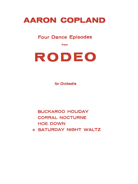 Saturday night waltz from 'Rodeo' image
